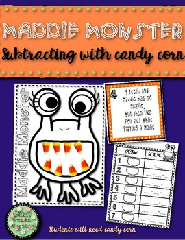 Maddie Monster Candy Corn Math