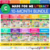 Made For Me Literacy --  GROWING Bundle (Level C Bundle 1)