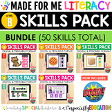 Made For Me Literacy: Digital Skill Practice Growing Bundl