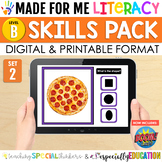 Made For Me Literacy Digital Skill Practice (Level B: Set