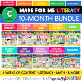 Made For Me Literacy -- GROWING Bundle (Level C) 3rd-5th g