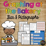 Bar Graphs and Pictograph Activity with Class Survey and Worksheets