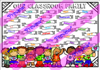 Made To Order Classroom Community Poster - V2