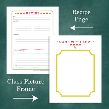 Valentine's or Mother's Day Collection of Recipes