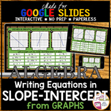 Slope-Intercept Form from Graphs Matching Activity (Made for Google Drive)