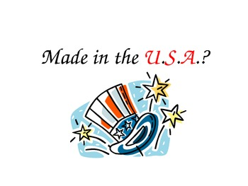 Made in the U.S.A.?
