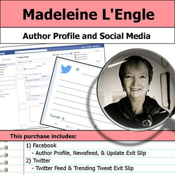 Madeleine L'Engle - Author Study - Profile and Social Media