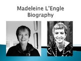Madeleine L'Engle Biography PowerPoint