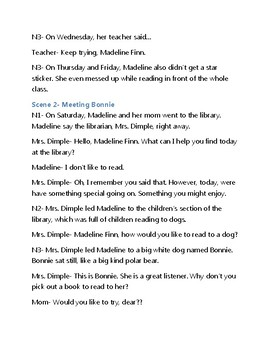 Madeline Finn and the Library Dog Reader's Theater Script