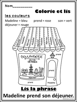La petite fille French Book Study ~ Simplified for Language Learners