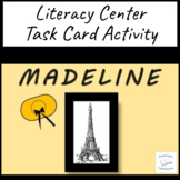 Madeline Ludwig Bemelmans Literacy Task Cards Group Reading Circles Rhyming