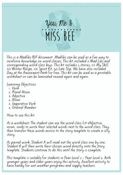 Madlibs Kit - 4 Stories