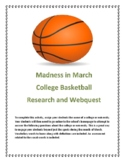 Madness in March College Basketball Vocabulary and Researc
