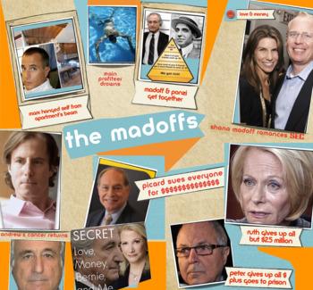 Securities Fraud - Ponzi Scheme - Madoff & Family - FREE POSTER