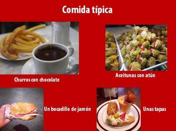 Spanish - Madrid, Spain - PowerPoint Presentation with Photos