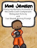 Mae Jemison: Analyzing Multiple Accounts Webquest and Text-Based Writing