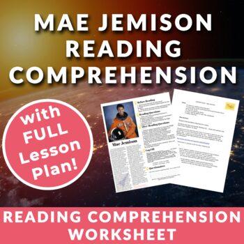 Mae Jemison - Astronaut & Pioneer - Teenage/adult ESL Reading w/ Lesson plan