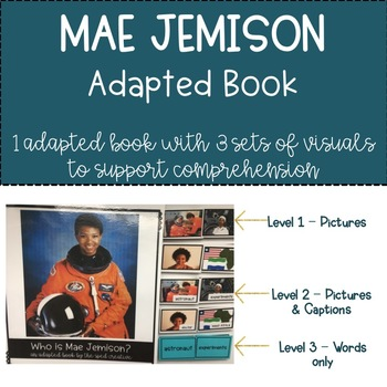 Mae Jemison Biography Adapted Book – 3 levels