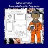 Mae Jemison Biography Research Graphic Organizer