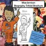 Mae Jemison Biography Trifold Graphic Organizer
