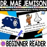 Mae Jemison Black History Simple Reading Activity