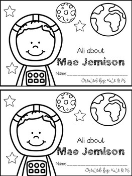 Mae Jemison {Emergent Reader}