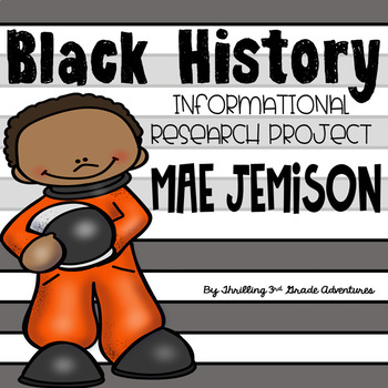 Mae Jemison- Informational Writing