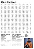 Mae Jemison Word Search