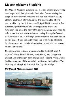 Maersk Alabama hijacking Handout