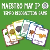 Musical Tempo Posters and Game