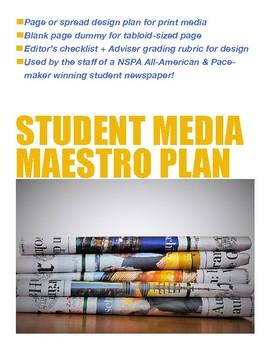 Maestro Plan for Scholastic Print Journalism