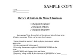 MaestroLeopold's Review of the Music Classroom Rules