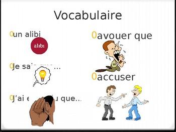Mafia - Vocabulary PowerPoint