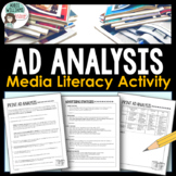 Advertising Analysis and Media Literacy Activity