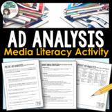 Advertising Analysis and Media Literacy Activity