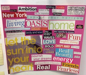 Magazine Art small group lesson