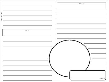 Magazine Article Template with Expository/Non-Fiction Text Features