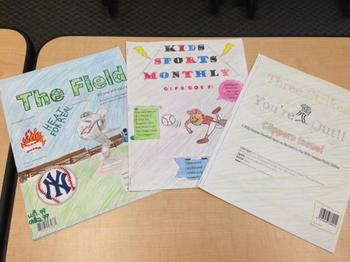 Magazine Book Report or Novel Project