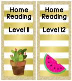 Magazine Box labels - Cactus, Watermelon and Flamingo
