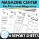 Informational Text Center: Graphic Organizers for Student Magazines