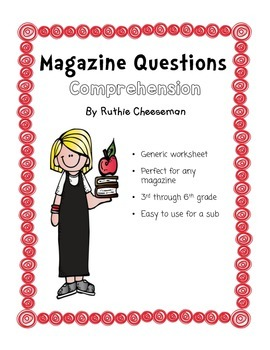 Magazine Comprehension Questions