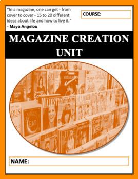 Magazine Creation Mini Unit: Persuasive Essay & Media Assignments