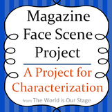 Magazine Characterization Playwriting Scene Writing Acting Activity Project