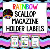 Magazine Holder Subject Labels