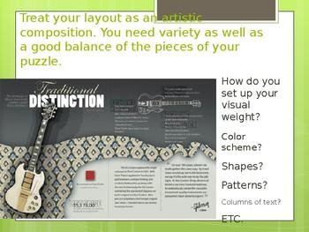 Magazine Layout Art Lesson Powerpoint