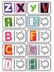 Magazine Letter Dominoes Game, 3-in-1 Literacy Center, Alp