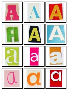 Magazine Letter Sort A-Z for Letter & Word Work, Literacy Centers, 26 Letters