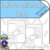 Informational Magazine/Newspaper Template