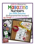 Magazine Numbers for Little Learners (Environmental Print Numbers)