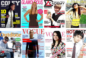 Magazine Project in Photoshop